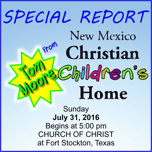 The Fort Stockton church of Christ